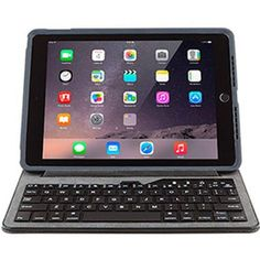OtterBox Agility Tablet System Keyboard Portfolio for Apple iPad Air/Air 2, Black - Walmart.com