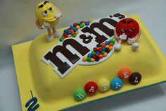 Rafael M&M's cake | Flickr - Photo Sharing!