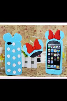 22 3D Mouse Bow iPhone 5 Disney Silicone Soft Case Case cover polka dots . 1eb7f84d0798