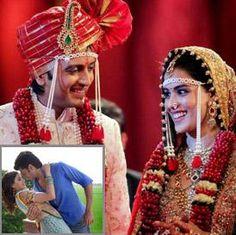 Bollywood Wedding Story: Genelia and Riteish Deshmukh
