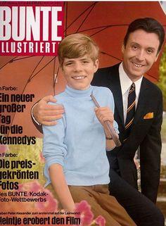 BUNTE ILLUSTRIERTE - 1968: - Peter Alexander und #Heintje