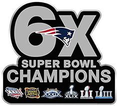 Amazon.com : Football 2019 Super Bowl 53 Patriots 6X Champions PIN Superbowl LIIIPRE Order Item - Shipping Begins March 5TH : Sports & Outdoors New England Patriots Memes, New England Patriots Wallpaper, New England Patriots Merchandise, Football Wall, Best Football Team, Football Memes, Patriots Cheerleaders, Patriots Team, American Games