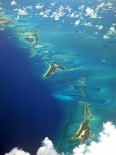 ♥ Aerial View of the Islands in the Caribbean