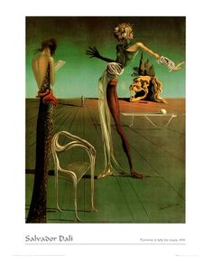 Woman with a Head of Roses, Dali