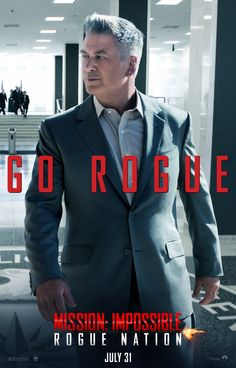 Mission: Impossible - Rogue Nation Alec Baldwin Poster