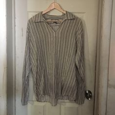 Urban pipeline outfitters SOLD This is a male relaxed fit long sleeve shirt. It looks good on woman as well but it's a men's gently worn item Urban Outfitters Tops Tees - Long Sleeve