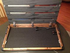 diy pedalboard homemade music musings pinterest pedalboard guitar and diy pedalboard. Black Bedroom Furniture Sets. Home Design Ideas