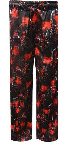 WebUndies.com Marvel Comics Deadpool Movie Art Lounge Pants