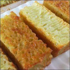 Kuih Bingka Ambon / Ambon Honeycomb Cake Recipe & Video (Kitchen Tigress)