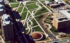 Hargreaves Associates University of Cincinnati Campus Green