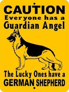 GERMAN SHEPHERD Dog Sign 9x12 Aluminum GAGS1 by animalzrule, $12.00