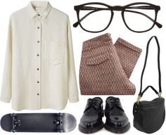 """""""nerd"""" by jesicacecillia ❤ liked on Polyvore"""