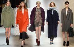 Modetrend: Oversize-Mäntel - Modetrends für Herbst und Winter 2014/2015