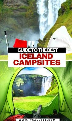 Guide to the best campsites in Iceland. Tips on places to camp in Iceland, camp grounds near Reykvik, Vik, Hofn and how camping in Iceland can save money. Iceland Travel Tips, Europe Travel Guide, Travel Guides, Travel Destinations, European Travel Tips, European Destination, Berlin, Camping Spots, Camping Hacks