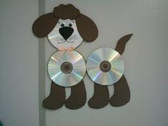 """BRINQUEDOS FEITOS COM CD. ATIVIDADES COM SUCATA ~ """" Cantinho do Educador Infantil """""""