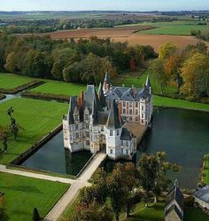 Le Chateau d'O, Normandie, France