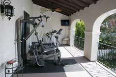 Structure Home Client's Exterior Balcony-Gym.