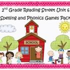 What a fun and engaging way to practice the spelling and phonics patterns from Reading Street Basal Series Unit 6! This pack includes 6 games that ...