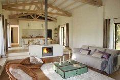 Home Fireplace, Fireplace Design, Luxury Interior Design, Home Interior, Sunken Living Room, Cabin Interiors, A Frame House, Design Case, Luxury Homes