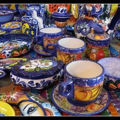 This is a popular form of Guatemalan art in the form of stained glass and pottery