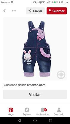 Baby Girl Jeans, Girls Jeans, Baby Boy Outfits, Kids Outfits, Baby Dress Patterns, Denim And Lace, Kids Pants, Little Girl Dresses, Toddler Dress
