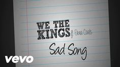 .lucky ... We The Kings - (Lyric Video) ft. Elena Coats my favorite song at the moment