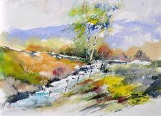 Comprar watercolor 413012 - Pintura de Pol Ledent por 256,00 USD en Artelista.com, con gastos de envío y devolución gratuitos a todo el mundo