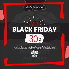 💥 BLACK FRIDAY 💣 PDF templates of your favorite Papercraft models now at a discount! 🔥🔥🔥 ⠀ The long-awaited black Friday, time for discounts😈 Buy everything with 30% discounts!!! ⠀ 📆 the chance to grab something for yourself (sale duration) 😜 Nov 26 - Nov 27, 2020 🔊Don't forget to Tell your friends too!!!! ⠀ 📌 Models available on Etsy #paperartaddiction #polygonal #papermodel #papercraft #papercrafter #3dpapercraft #blackfriday #lowpoly #паперкрафт #декорации #christmas #blackweek Black Week, Art Addiction, 3d Paper Crafts, Long Awaited, Pdf Patterns, Paper Models, Low Poly, Cool Kids, Black Friday