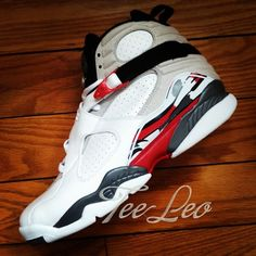 the best attitude 7930b a02e2 Air Jordan 8 Retro White Grey Red aka Bugs Bunny New Detailed Picture