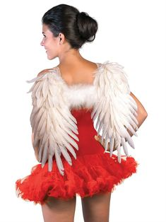 Rubies Costume Co Soft Feathered Angel Wings