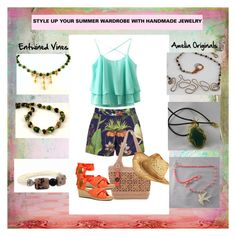 """STYLE UP YOUR SUMMER WARDROBE WITH HANDMADE JEWELRY"" by andreadesigns1 ❤ liked on Polyvore featuring Penfield, The Sak, UGG Australia and Boston Proper"