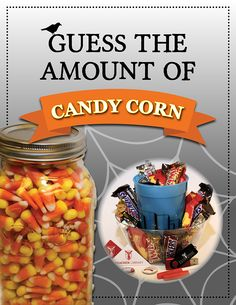 Come to Bracken Library to guess how many Candy Corn are in the Ball Jar | Win a Bracken Library gift set! **Student participation only