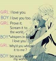 anime couple black and white
