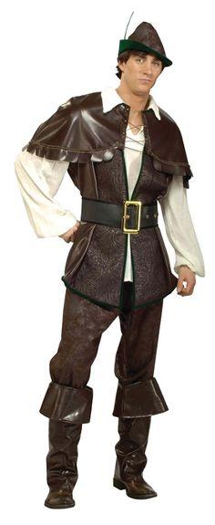"ROBIN HOOD SHERIFF OF NOTTINGHAM, FANCY DRESS COSTUME CHEST SIZE 44/""   #US"