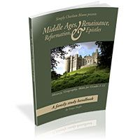 Announcing the release of three new products: the Middle Ages, Renaissance, Reformation handbook; a family Bible study journal; and a Bible study for older students.
