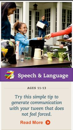 Encourage your child to speak up more when it comes to her favorite passion. Click for more. #SpeechandLanguage