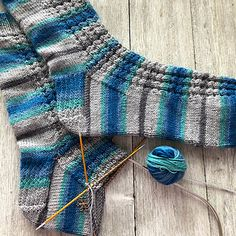 Ravelry: Library Socks pattern by The Kitchen Sink Shop Baby Afghan Crochet, Knit Or Crochet, Lace Knitting, Knitting Socks, Knitting Stitches, Knitted Hats, Knitting Designs, Knitting Patterns Free, Knitting Projects