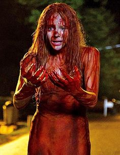 Chloe Moretz in Blood Soaked Dress in Official Still from Carrie  - Chloe Moretz stars in the remake of Carrie; a movie based from the Stephen King novel and is set for release in March 2013. The movie was directed by Kimberly Pierce and shooting sta