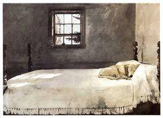 Andrew Wyeth, Master Bedroom, 1948