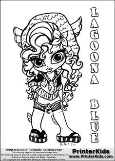 Monster High Baby Coloring Pages - AZ Coloring Pages | Monster ...