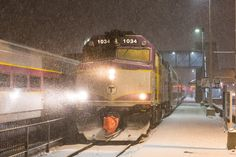 Photo Gallery: Winter storm blankets Boston | Trains Magazine