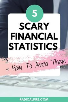 It's amazing how much I've read and learned about money and finances over the last few years. There are thousands of statistics that I've seen and I'm surprised again and again by the amount of scary financial statistics that I see. Here are the most scary financial statistics & how to avoid them! #personalfinance #makemoney #savemoney #investing #radicalfire Budgeting Finances, Budgeting Tips, Wealth Management, Money Management, Financial Planning For Couples, Dividend Investing, Creating Wealth, Financial Stability, Finance Organization