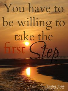 Monday Motivation | Why is it that the first steps are always the hardest?