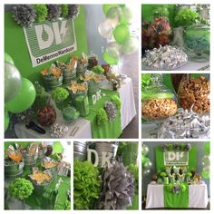 Sweet and Savory Popcorn Buffet by Bizzie Bee Creations