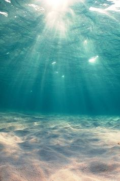I love this. So I pinned it. Which is just weird because underwater terrifies me.