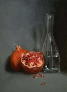 Still Life with Pomegranate by Anastasia Wildig
