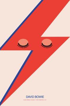 Music Minimals – David Bowie by Eric Crawford