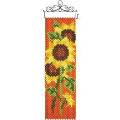 Herrschners® Sunflowers Beaded Banner Kit Was: $17.99                     Now: $14.99
