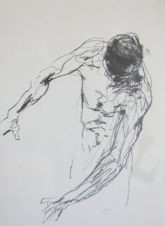 "Derek Overfield - ""Drawing 46"", graphite on paper, 2011"