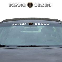 Baylor Bears 35x4 Windshield Decal (backorder)